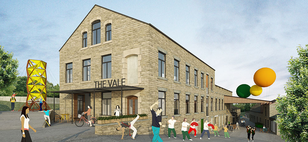 Artist impression of the new-look Vale entrance